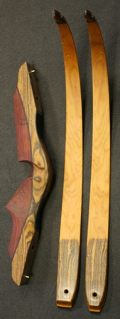 Bacote/Paduk riser with Yew Limbs