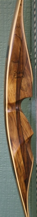 myrtle/shedua flare riser with myrtle veneers bamboo core limbs