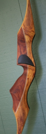 Shedua/bolivian rosewood riser with shedua limbs